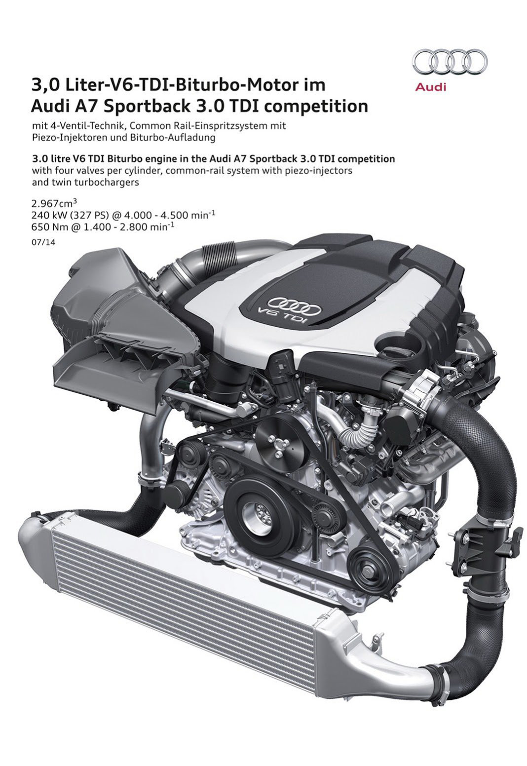 Audi A7 Sportback 3,0 TDI Competition