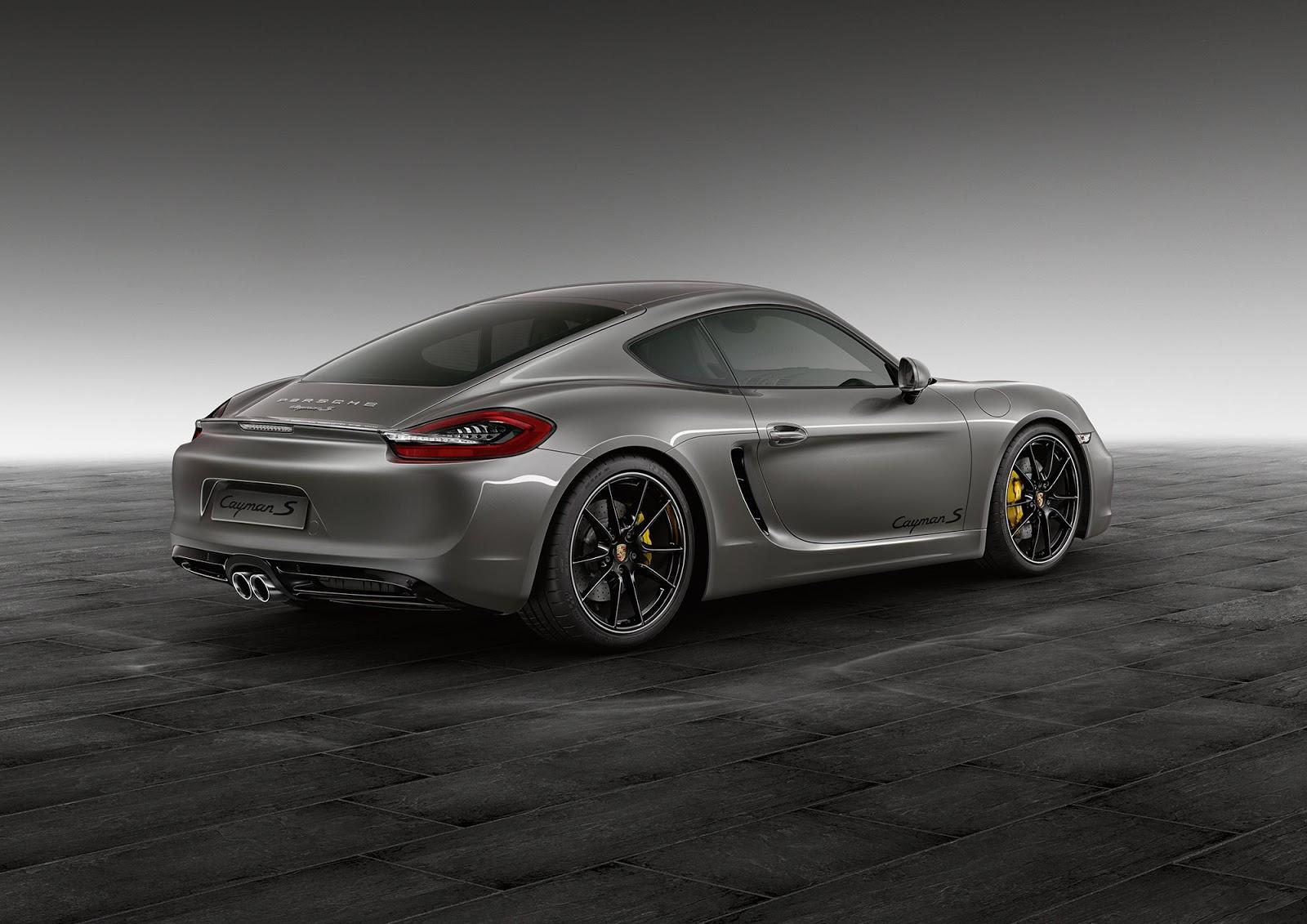 Porsche Exclusive разкри Agate Grey Cayman S