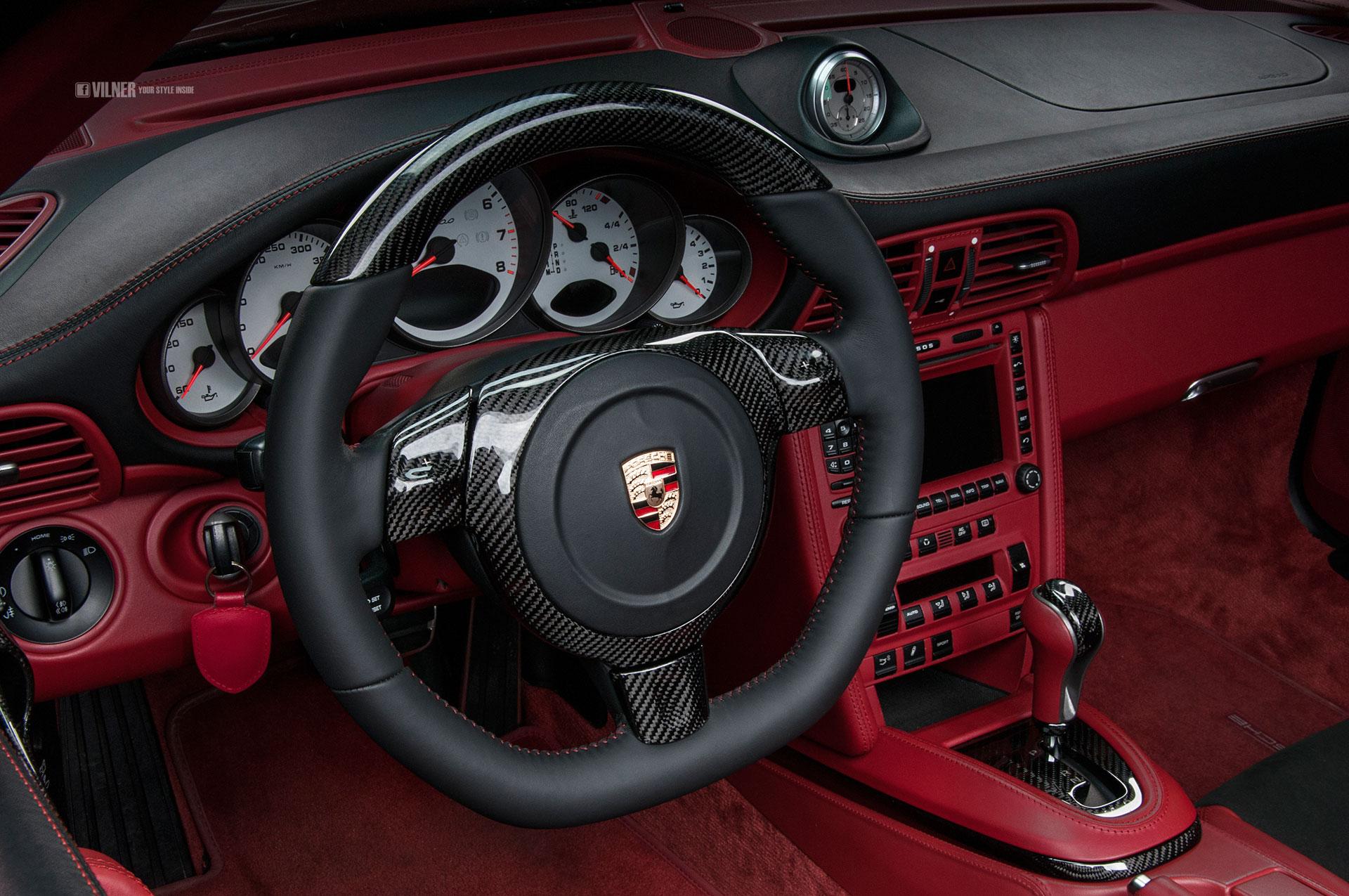 Porsche 911 Turbo Cabriolet от Vilner