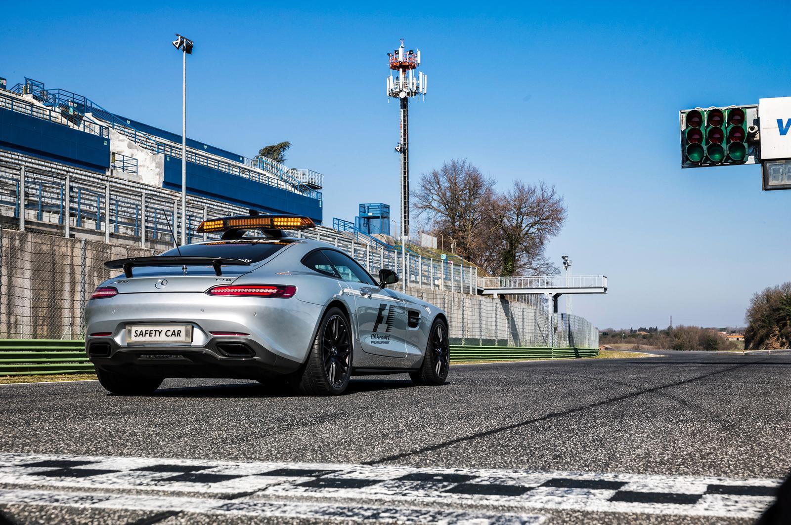 Mercedes-AMG GT S F1 Safety Car