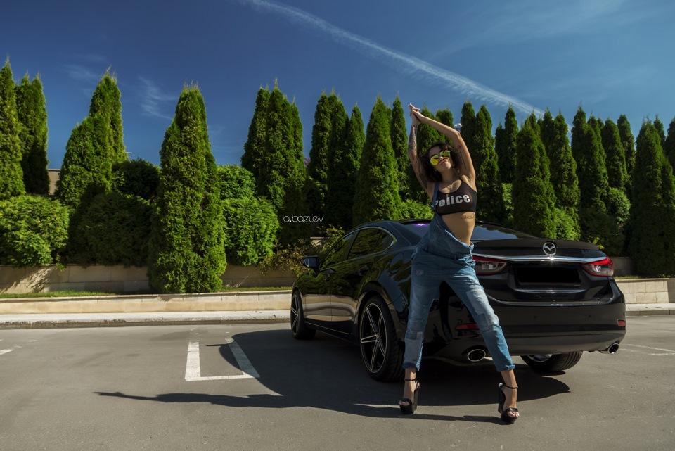 Катерина & Mazda 6