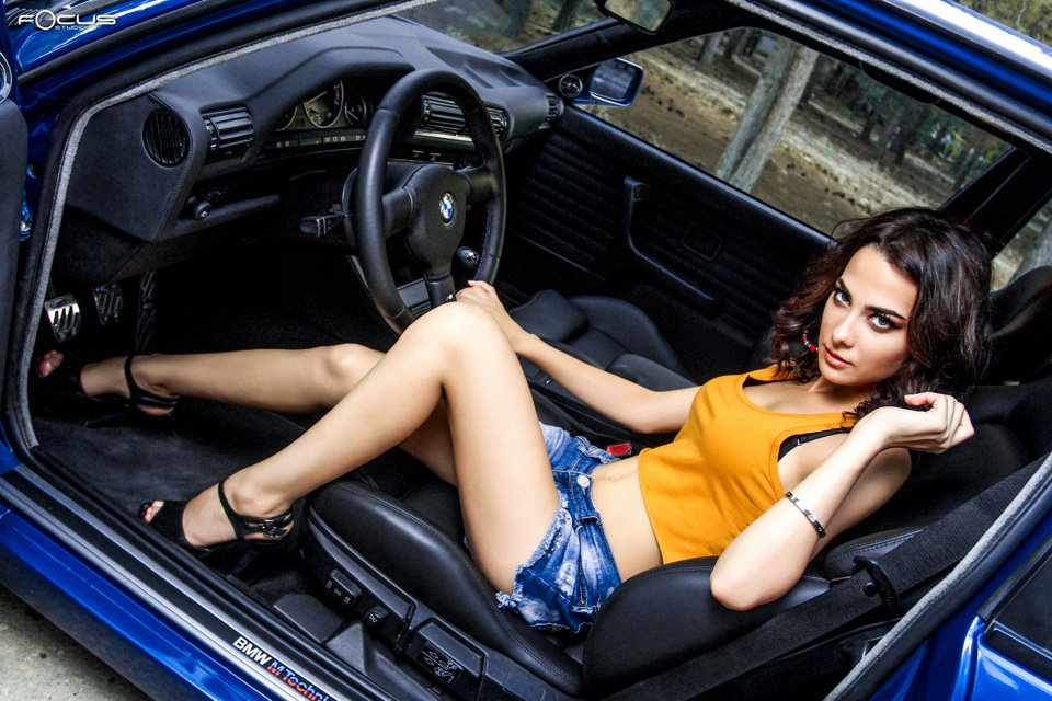 BMW E30 Girls & Cars 2015
