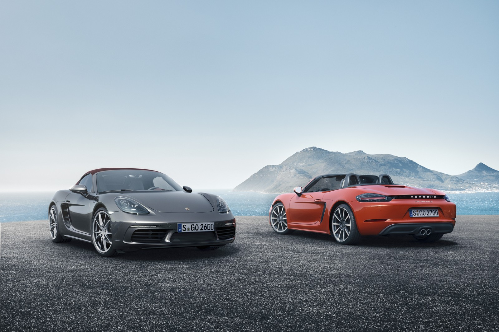 718 Boxster & 718 Boxster S