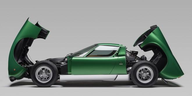 Нов живот за първото Lamborghini Miura SV