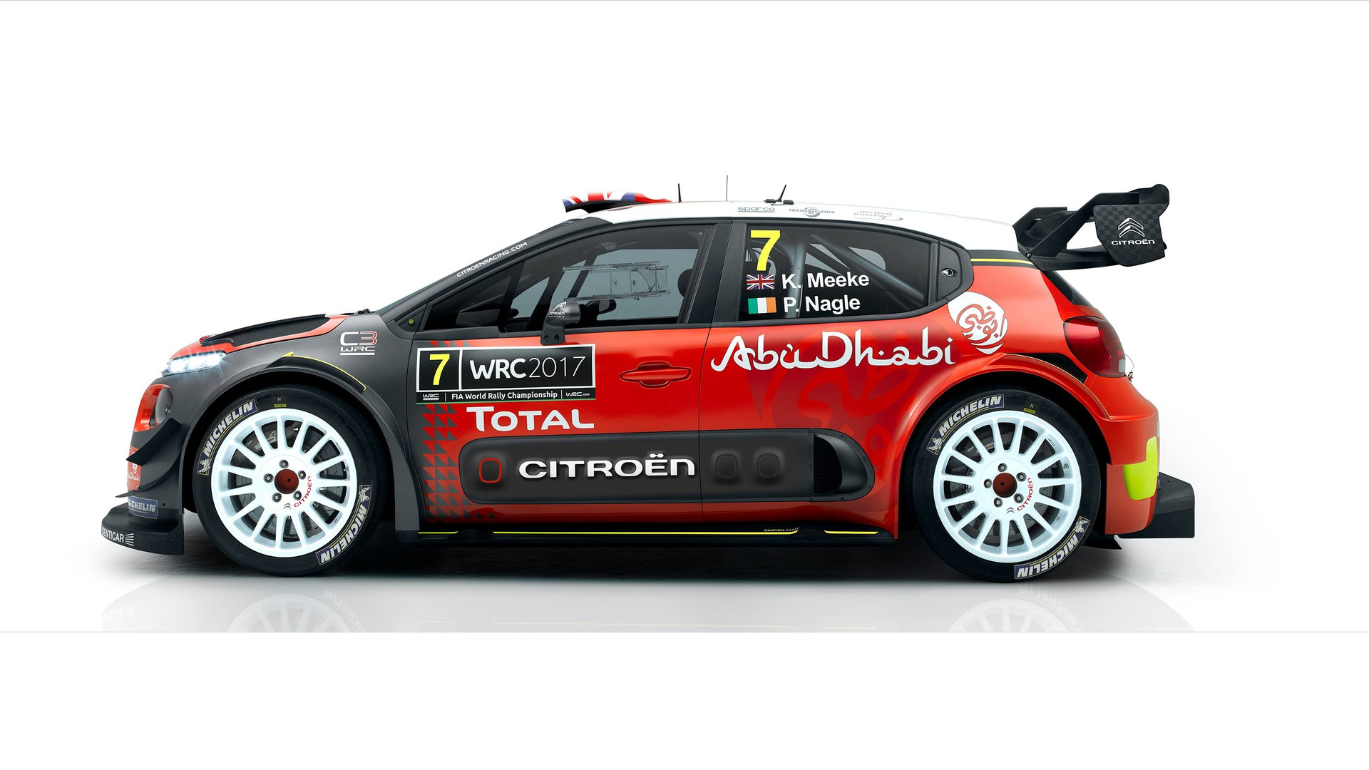 citroen c3 wrc 2017. Black Bedroom Furniture Sets. Home Design Ideas