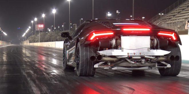 Това е най-бързото Lamborghini Huracan в света [Видео]