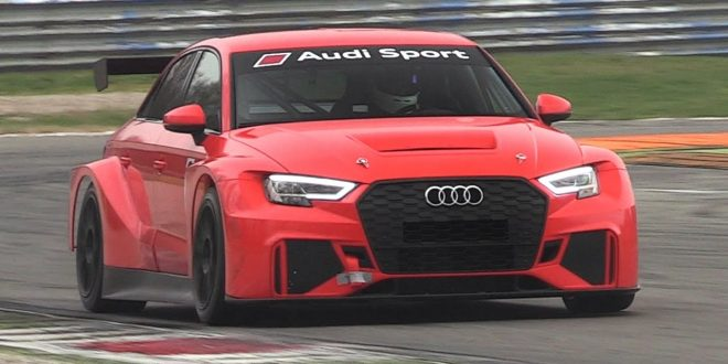 Audi RS3 LMS TCR 2017 [Видео]