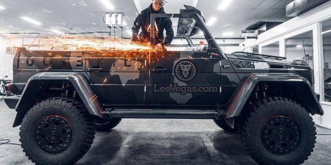 Йон Олсон отряза покрива на своя Mercedes-Benz G500 4×4² [Видео]