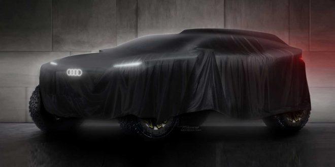 Audi се завръща в рали Дакар с този хибриден SUV