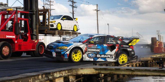 Gymkhana 2020 е с Травис Пастрана и Subaru WRX STI с 862 к.с. [Видео]