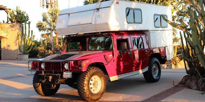 Продават Hummer H1 кемпер