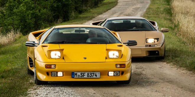 Lamborghini Diablo става на 30