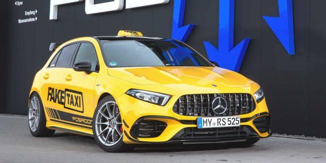 Тунинг: Posaidon Mercedes-AMG A45 RS 525