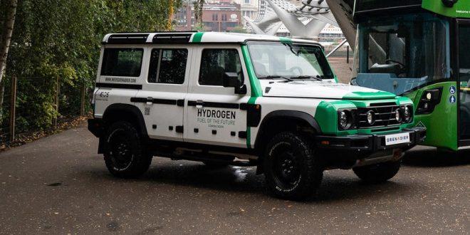 Ineos Grenadier FCEV с технология на Hyundai