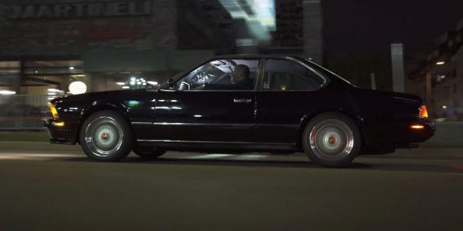 BMW 635 CSi 1989 (E24) по празните улици на София [Видео]