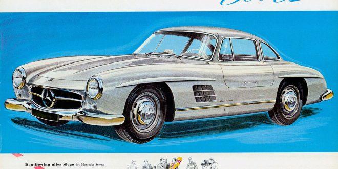 SL празнува в музея на Mercedes-Benz